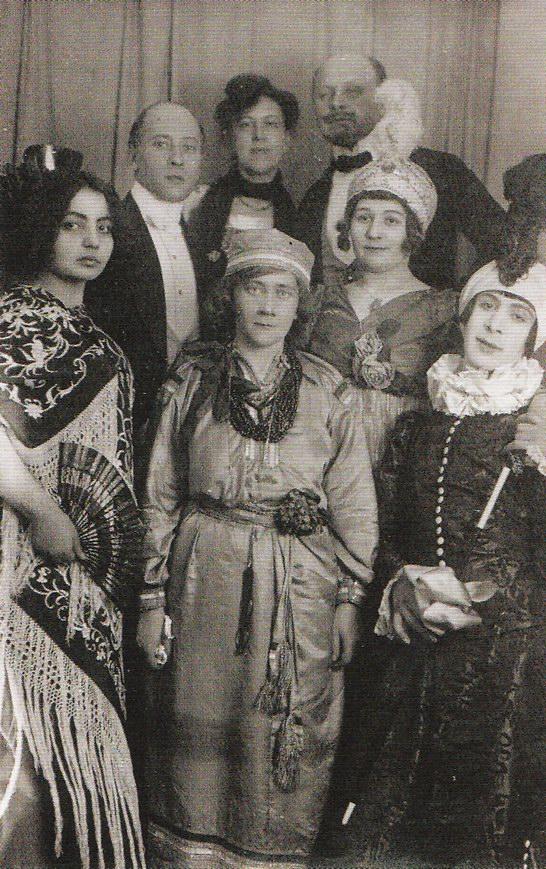 Владимир фон Бехтеев, Марианна Веревкина, Елена Незнакомова,  Александр Сахаров