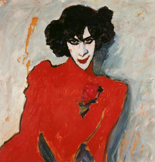 Алексей Георгиевич Явленский (1864-1941) Красные губы (Портрет танцовщика Александра Сахарова)