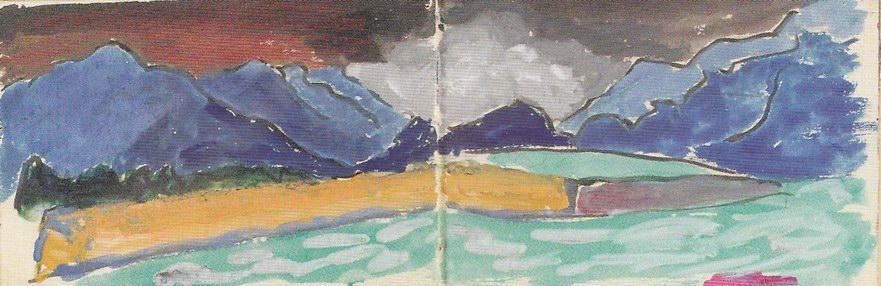 Зарисовки из альбома-3, 1908