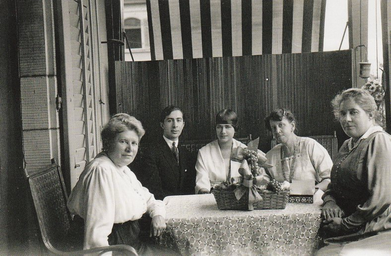Марианна Веревкина, Александр Сахаров, Луиза Серейн, Клотильда Дерп, Аскона, 1919