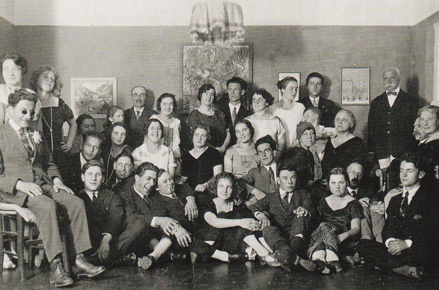 Cafe Central, Ascona, 1925