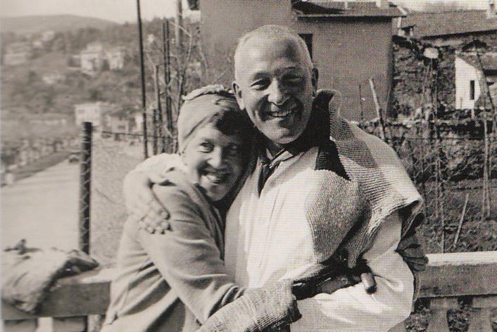 Мапианна с берлинским другом, Ernst Alfred Aye, 1928
