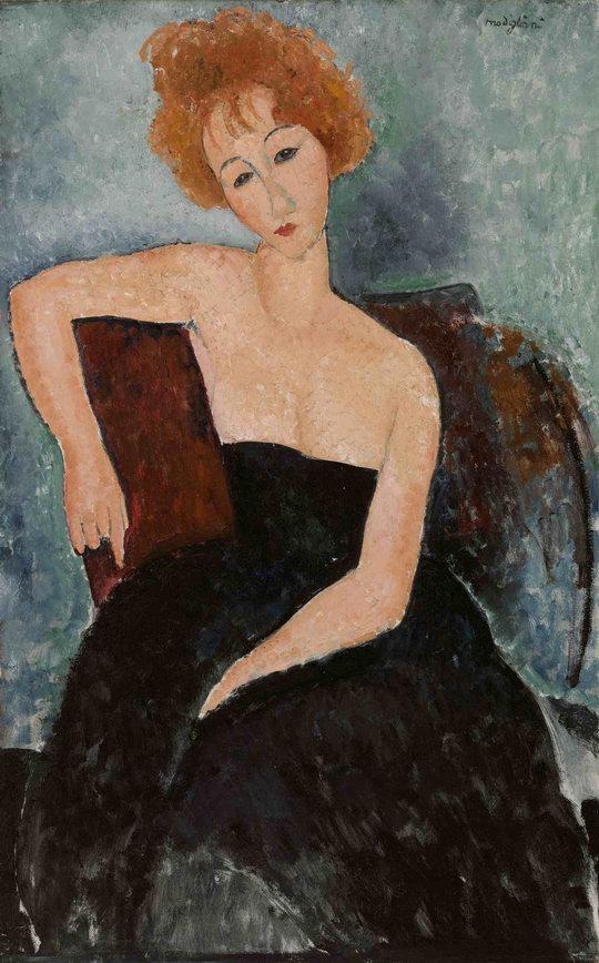 Resize of Modigliani-Redheaded-Girl-in-Evening-Dress.jpg