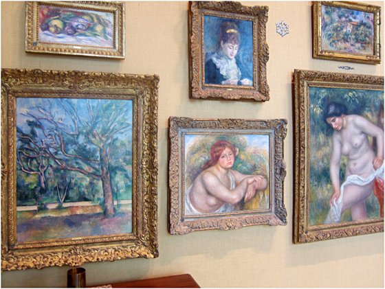 Renoir galore at the Barnes Foundation.jpg