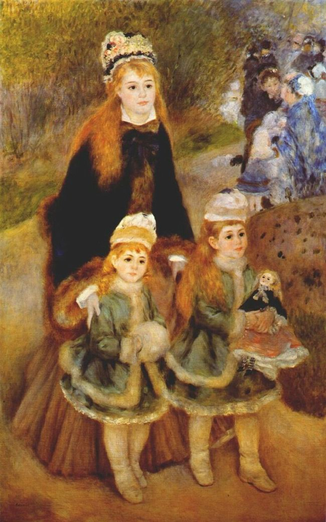 Resize of Pierre-Auguste Renoir (French Mother Strolling with her Children.jpg