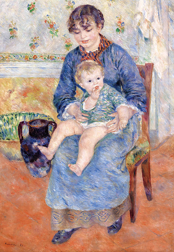 Pierre-Auguste Renoir, French, 1841-1919. Young Mother.jpg