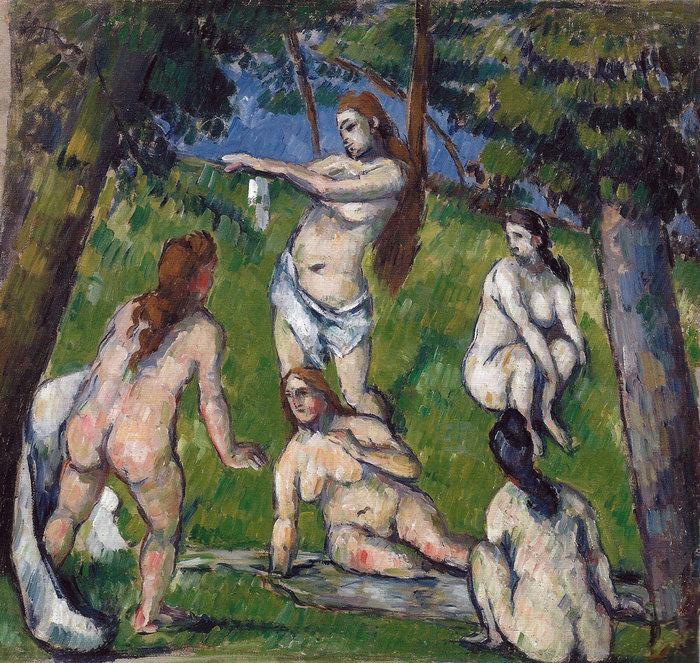 Cezanne, Five Bathers.jpg