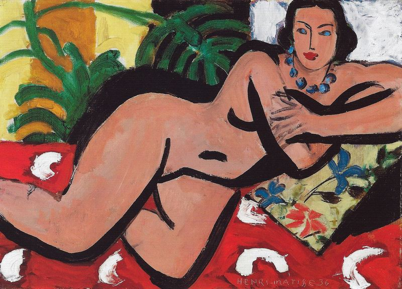 Henri Matisse - Reclining Nude with Blue Eyes, 1936.jpg