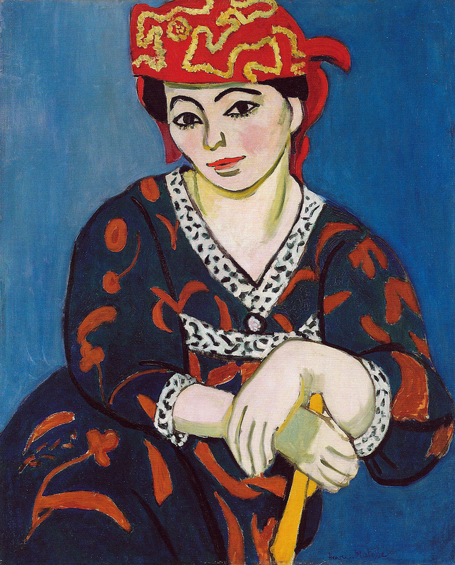 Henri Matisse - Red Madras Headdress (Le Madras rouge), 1907.jpg