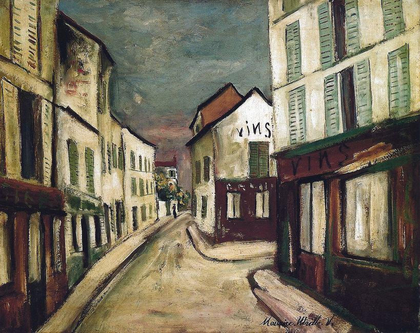 Maurice Utillo - Street Wineshops at the Barnes.jpg