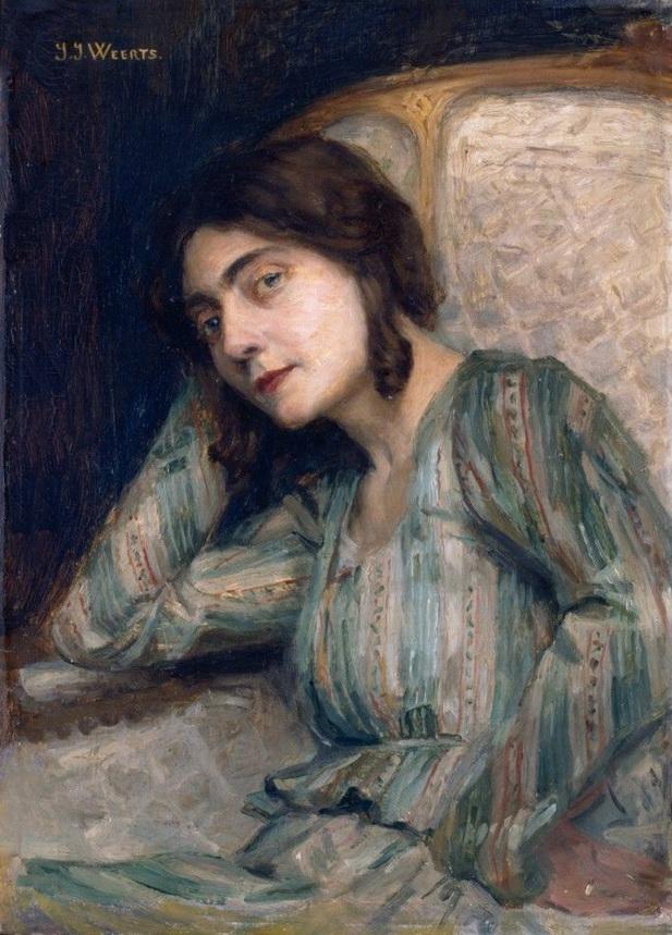 Jean-Joseph WEERTS (1846-1927) – Reverie ou Tout est rompu,.jpg