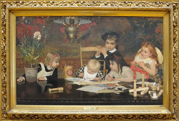 Resize of The Master Painter' by Jan Frans Verhas 1887.jpg