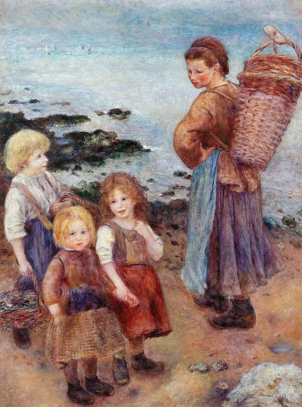 Pierre Auguste Renoir - Mussel-Fishers at Berneval, 1879.jpg