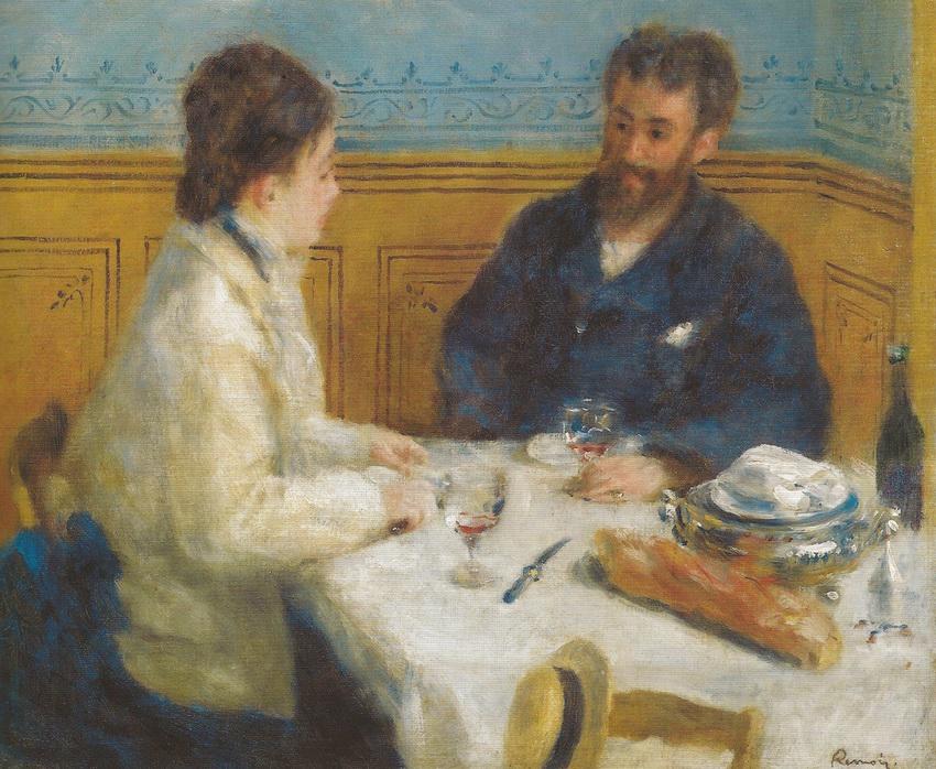 Pierre Auguste Renoir - The Luncheon (Le Dejeuner), 1875.jpg