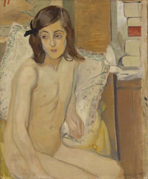 Nude and Books (Nu et livres)