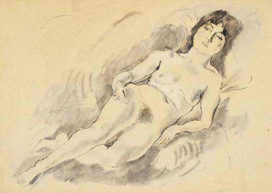 Reclining Nude, 1920
