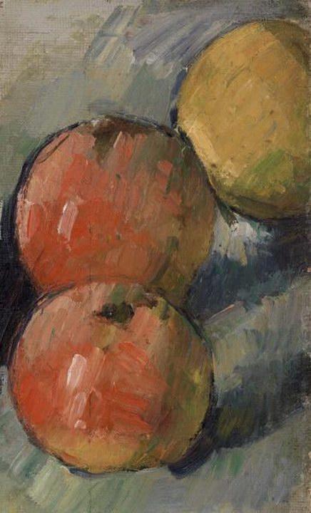 Three Apples (Deux pommes et demie) 1879
