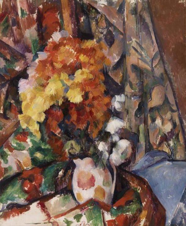 The Flowered Vase (Le Vase Fleuri) 1895