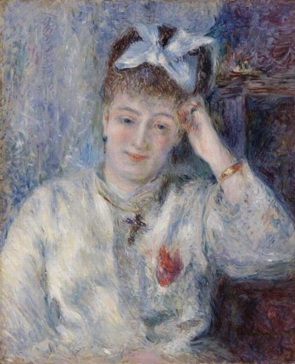 Resize of (Portrait de Mademoiselle Marie Murer)1877
