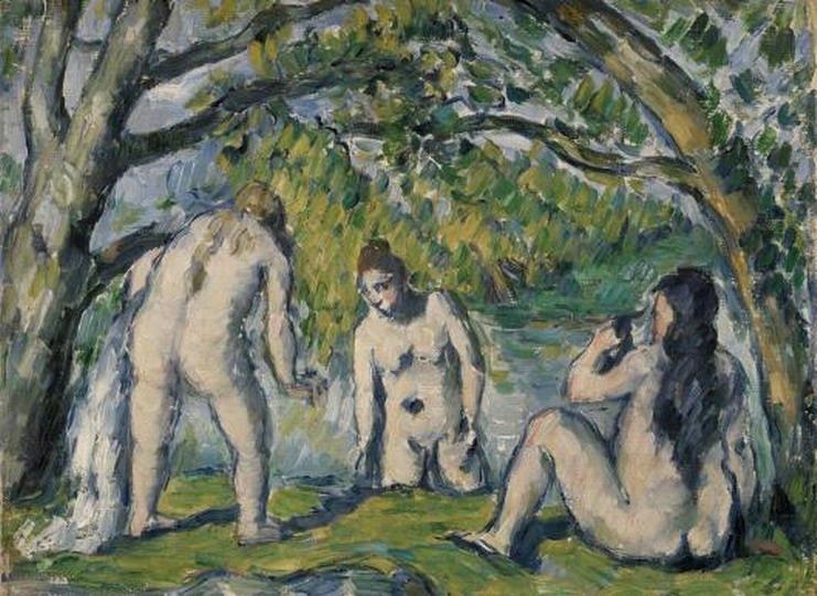 Resize of Three Bathers (Trois baigneuses)