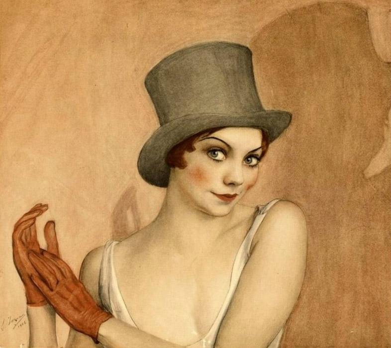 114Portret-aktrisy-iz-postanovki-Grate-Gatsby-Era-Deco-1024x911