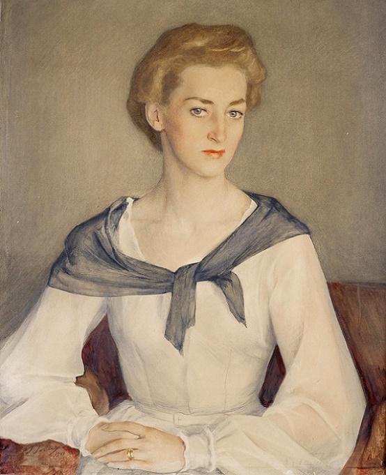 130031427_1948_Portret_knyagini_Irinuy_Obolenskoy__Portrait_of_Princess_Irina_Obolensky__805_h_645_bumaga_na_holste_akvarel_i_karandash_CHastnoe_sobranie