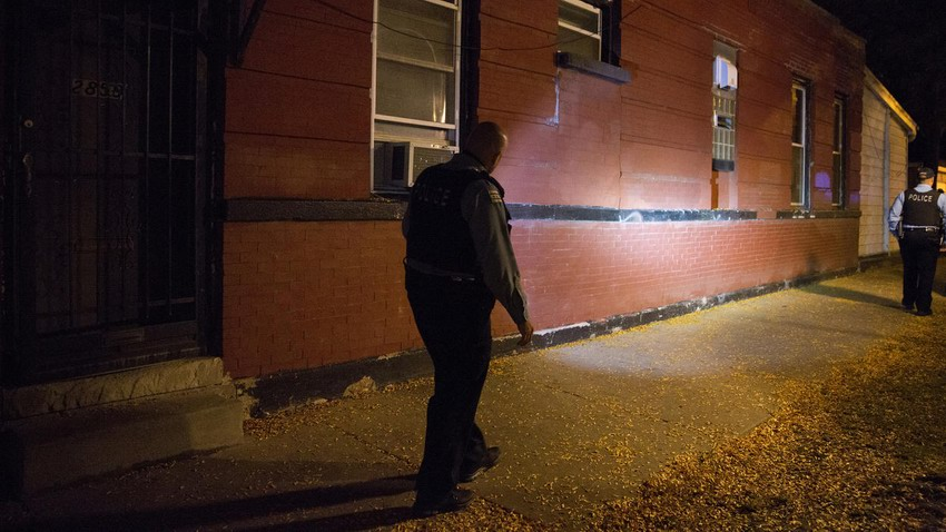 A 34-year-old man was taken to Mount Sinai Hospital with a gunshot would to the leg.