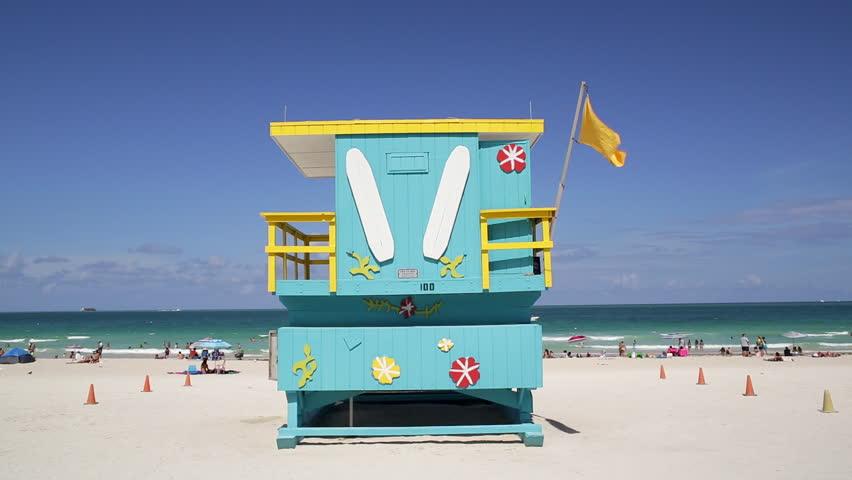 Art Deco style Lifeguard hut