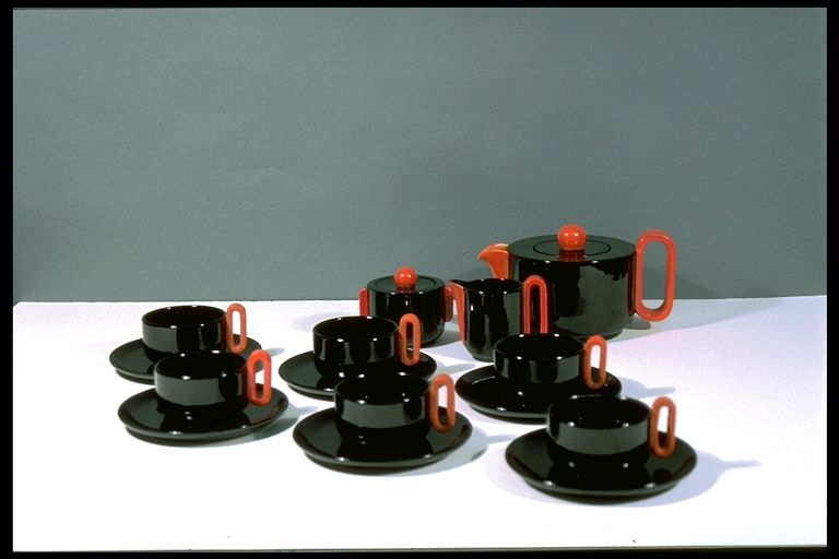 Teacup and saucer italy 1935