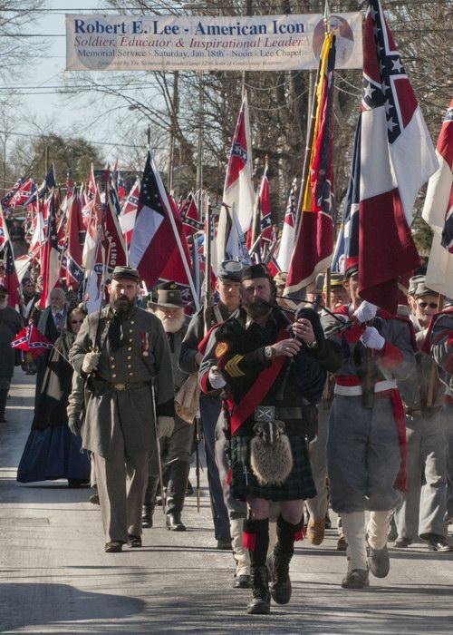 Resize of Confederate Parade LEXINGTON