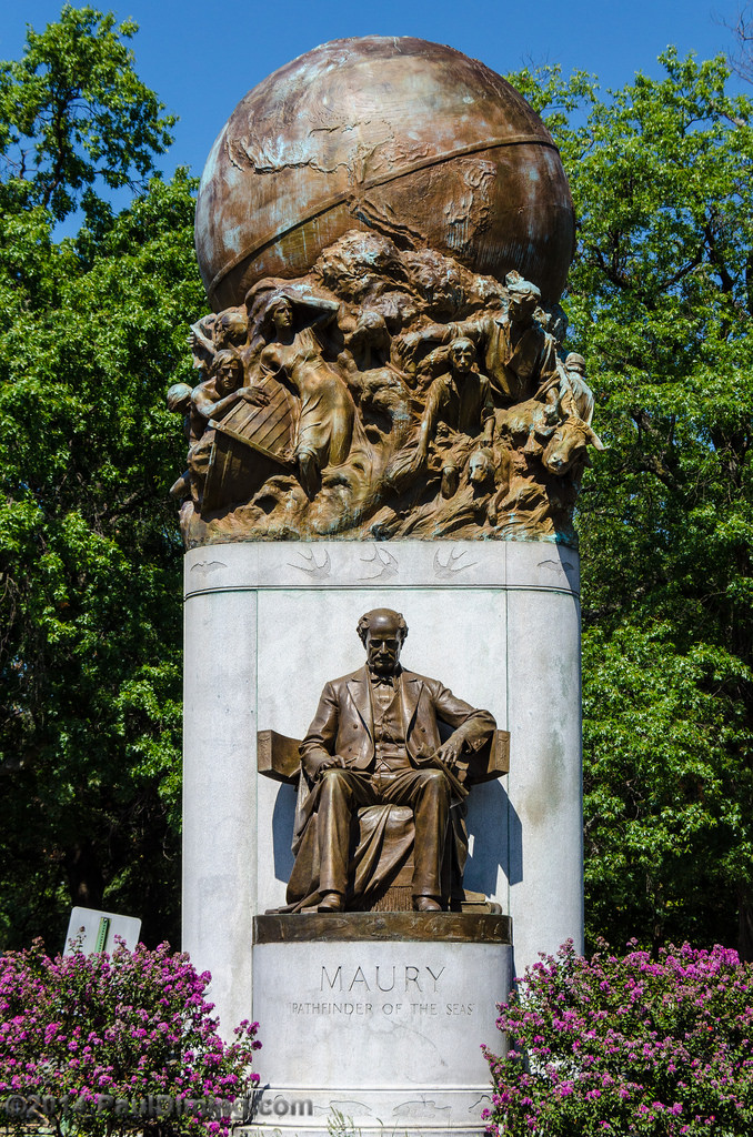 Matthew Fontaine Maury Monument-3