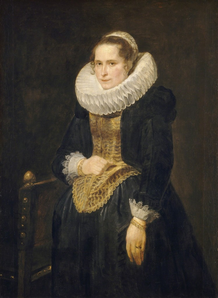 Anthony van Dyck, Portrait of a Flemish Lady