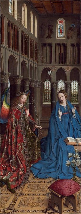 Annunciation - Jan van Eyck - 1434