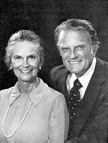 Ruth and Billy Graham, 1980: photo source unknown.