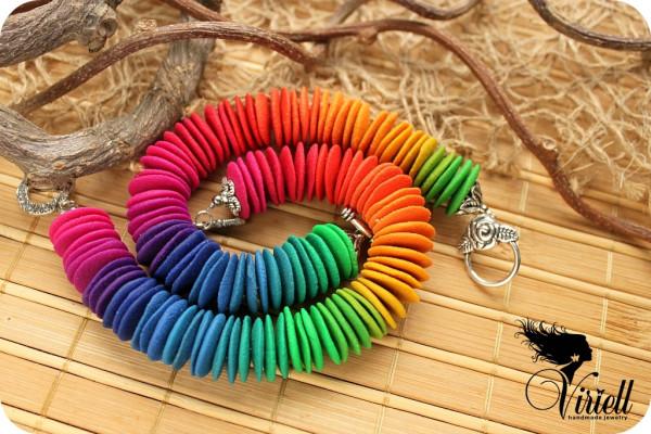 браслеты радуга