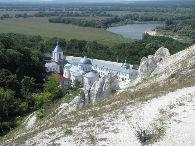Дивногірський монастир. Сучасний вигляд.