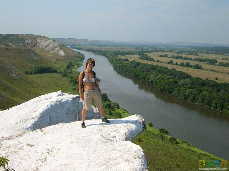 Крейдяні гори Білогір'я. Тут закінчується етнічна Україна.