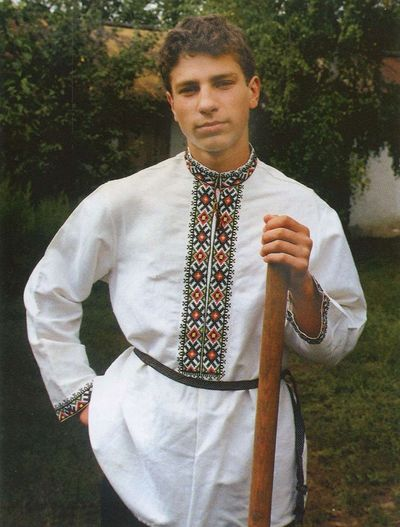 Чоловіча сорочка – слобода Залиман Богучарського повіту.