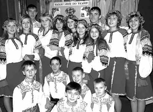 Лауреат фестивалю – дитячий танцювальний колектив «Роздолля» з селища Кам'янка.