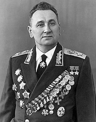 Міністр оборони СРСР Андрій Гречко.