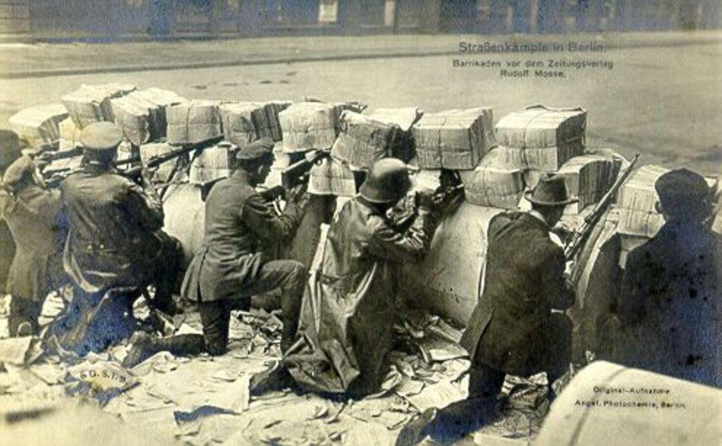 The Barricade [1921]
