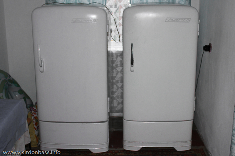 Холодильники Донбасс - один из символов советского Донецка