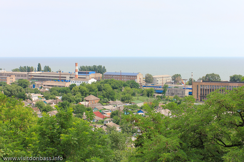 Железнодорожное депо Мариуполя
