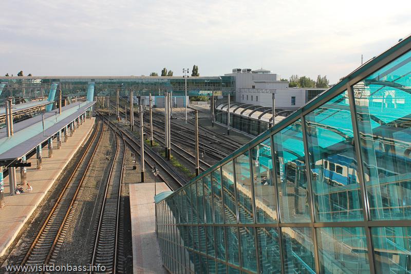 платформы донецкого жд вокзала после реконструкции