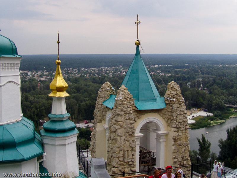 Андреевская часовня в Святогорской Лавре
