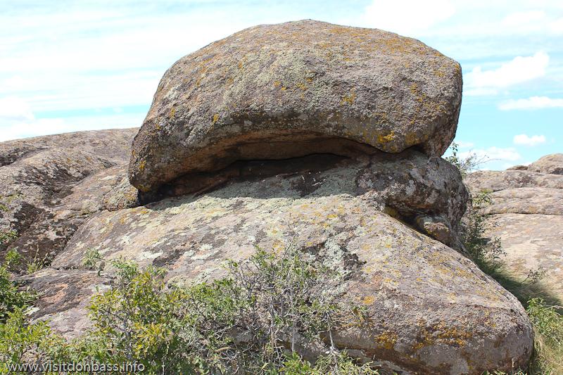 в заповеднике Каменные могилы