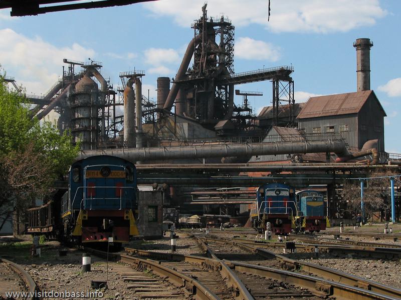 Донецкий металлургический завод доменный цех