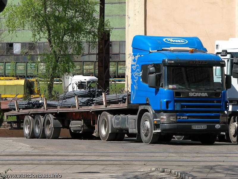 Металлургический завод Донецксталь. Готовая продукция и опасное производство. Готовая продукция - сортовой прокат