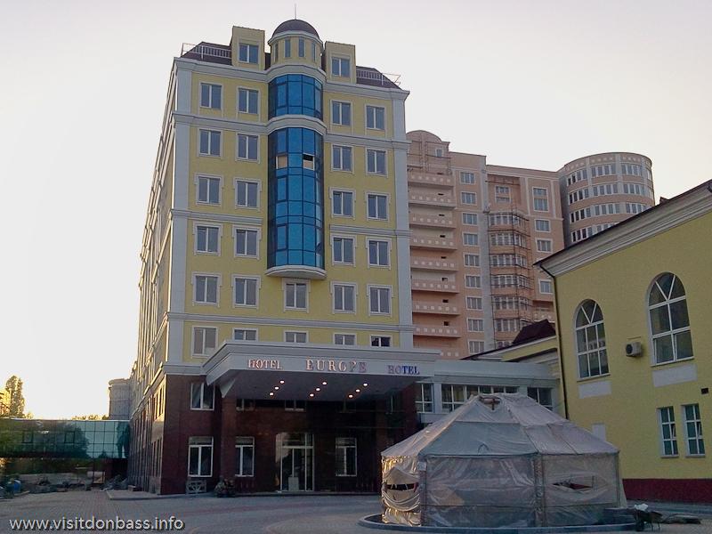 Гостиница Reikartz Донецк Европа в Донецке