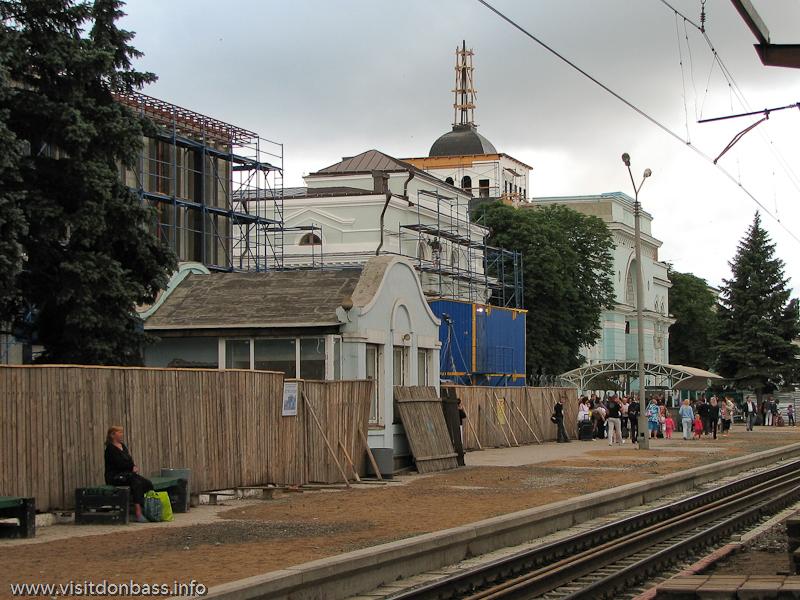 Реконструкция ж/д вокзала в Донецке